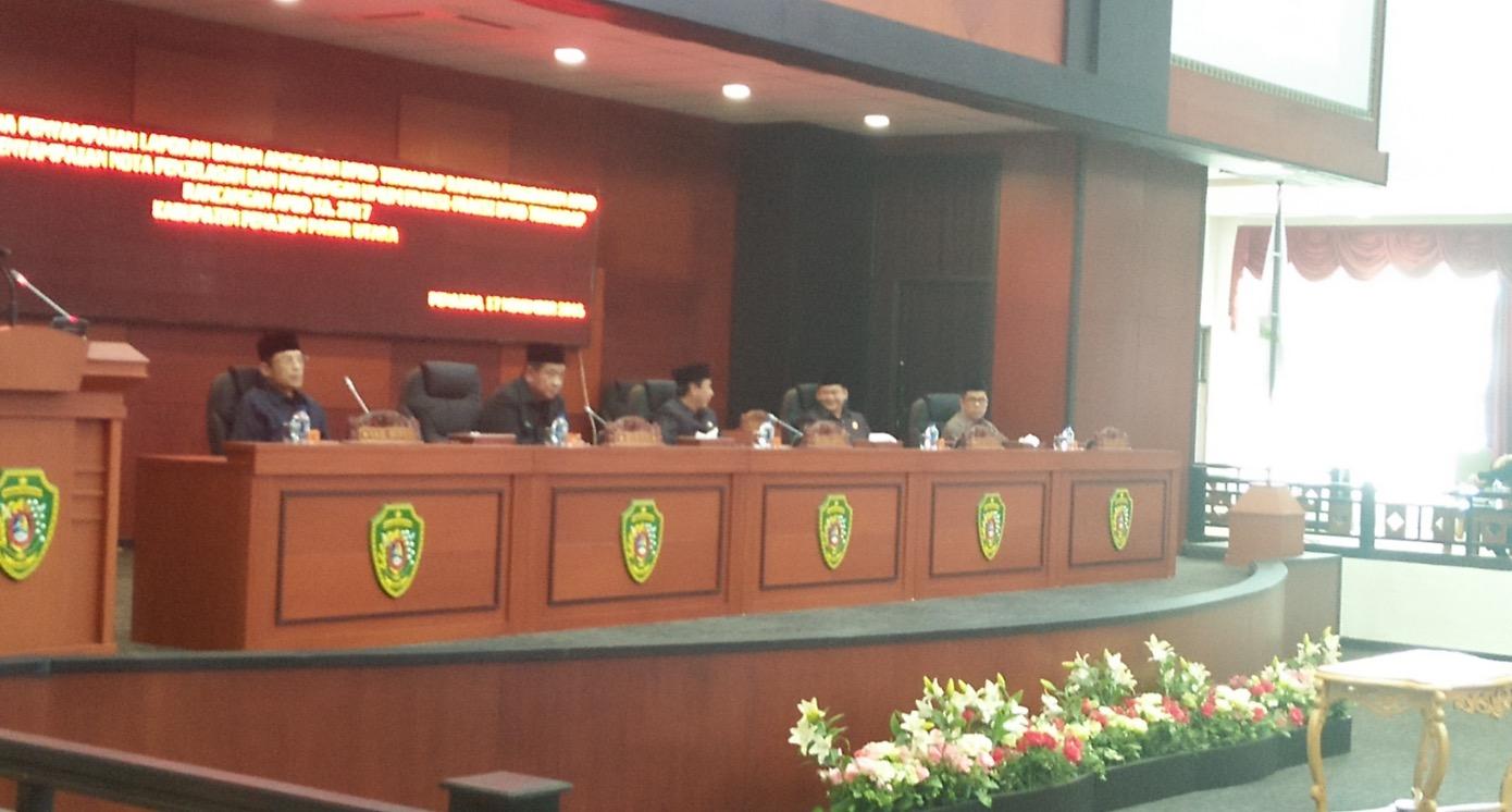 Rapat Paripurna DPRD Kabupaten Penajam Paser Utara PAD Bertambah Rp136 miliar Dana Perimbangan Berkurang Rp171,860 miliar