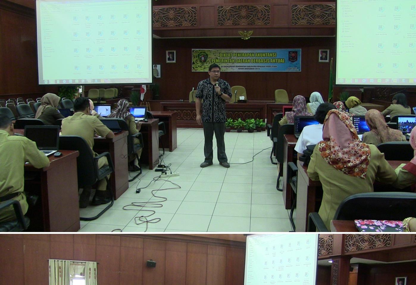 BKD Menggelar Diklat Penerapan Akuntansi Pemerintahan Daerah