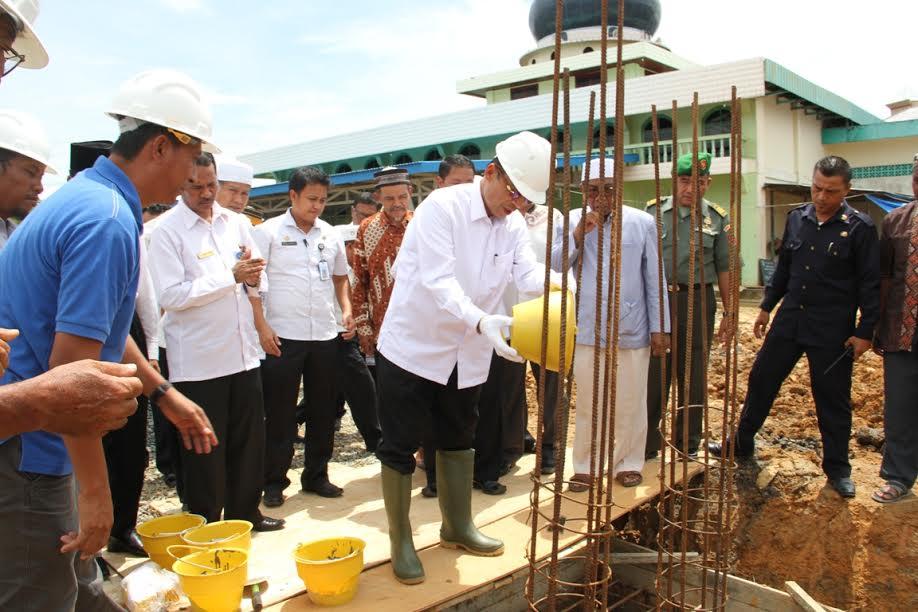 Insya Allah 5-7 Tahun Lagi Masjid Termegah Akan Berdiri Di Petung