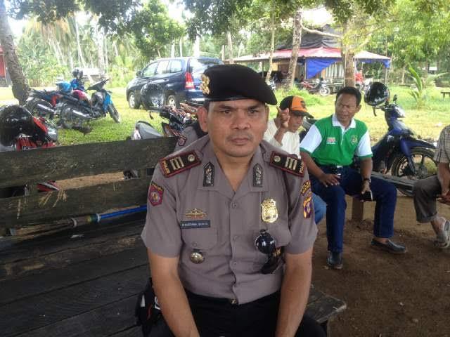 27 Personil Sabhara Mengamankan Objek Wisata Tanjung Jumlai