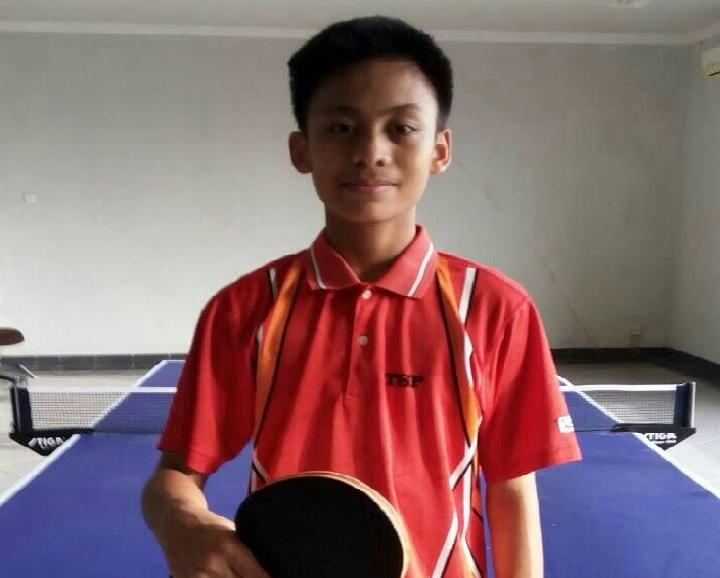 Olan Menjadi Atlet Tenis Meja Berawal Dari Sang Ayah