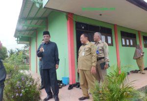 Mustaqim MZ dan Marjani Pantau SMK yang Melaksanakan UNBK