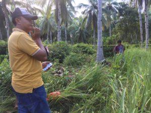 Warga Waru Geger, Penemuan Mayat di Kebun Kelapa
