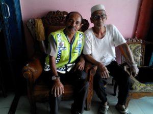 Pererat Tali Silaturrahmi, Kapolsek Babulu Kunjungi Tokoh Masyarakat Banjar