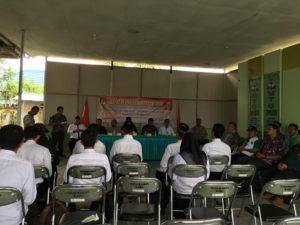 KPU PPU Monitoring Rapat Pleno DPHP di Tingkat PPK