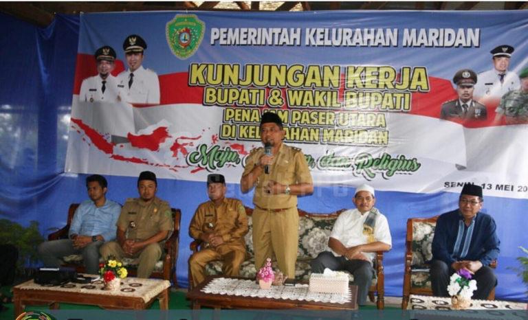 Pemda PPU Laksanakan Kunjungan Kerja di Kecamatan Sepaku