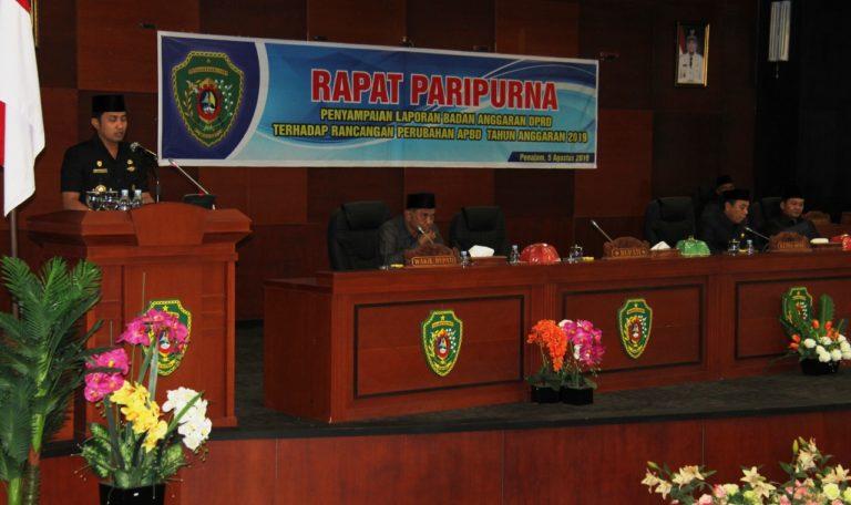 Sidang Paripurna DPRD Kabupaten PPU