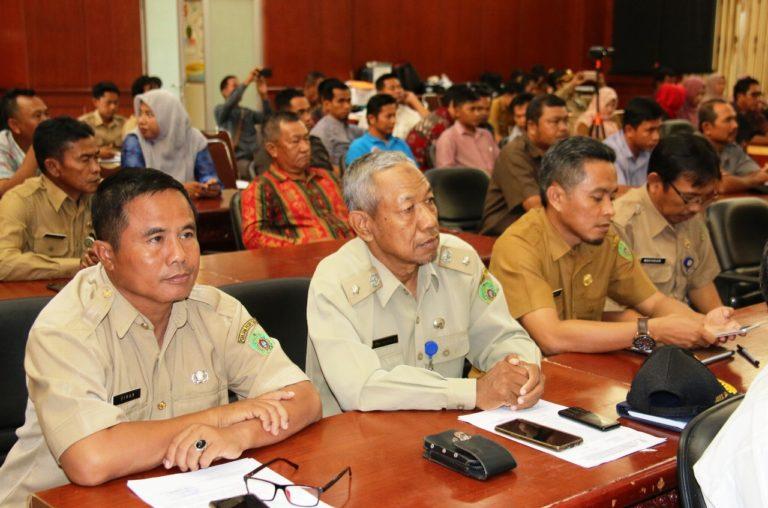 DPMPD Gelar FGD Demi Peningkatan Kapasitas Aparatur Desa