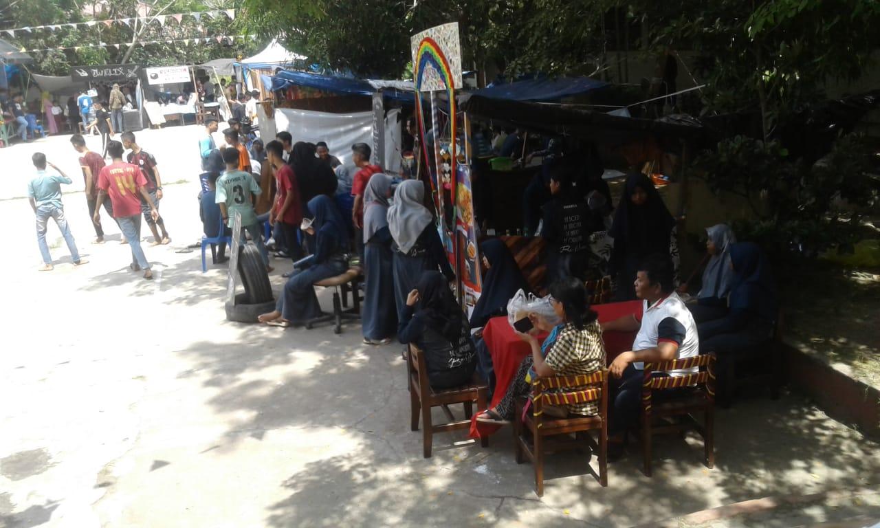 Anniversary SMA 1 PPU, Laksanakan Bazar dan Pagelaran Seni