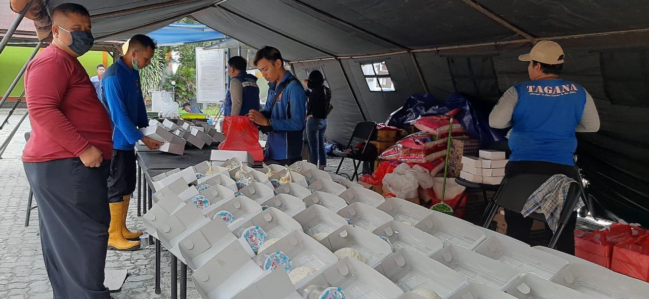 Solidaritas Dapur Umum Terus Beroperasi Selama Masa Pandemi CoViD19