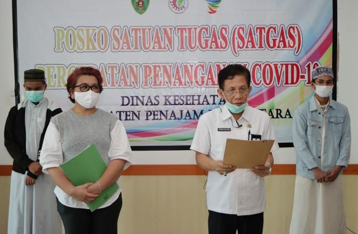 Dua Pasien CoViD-19 di PPU Kembali Dinyatakan Sembuh