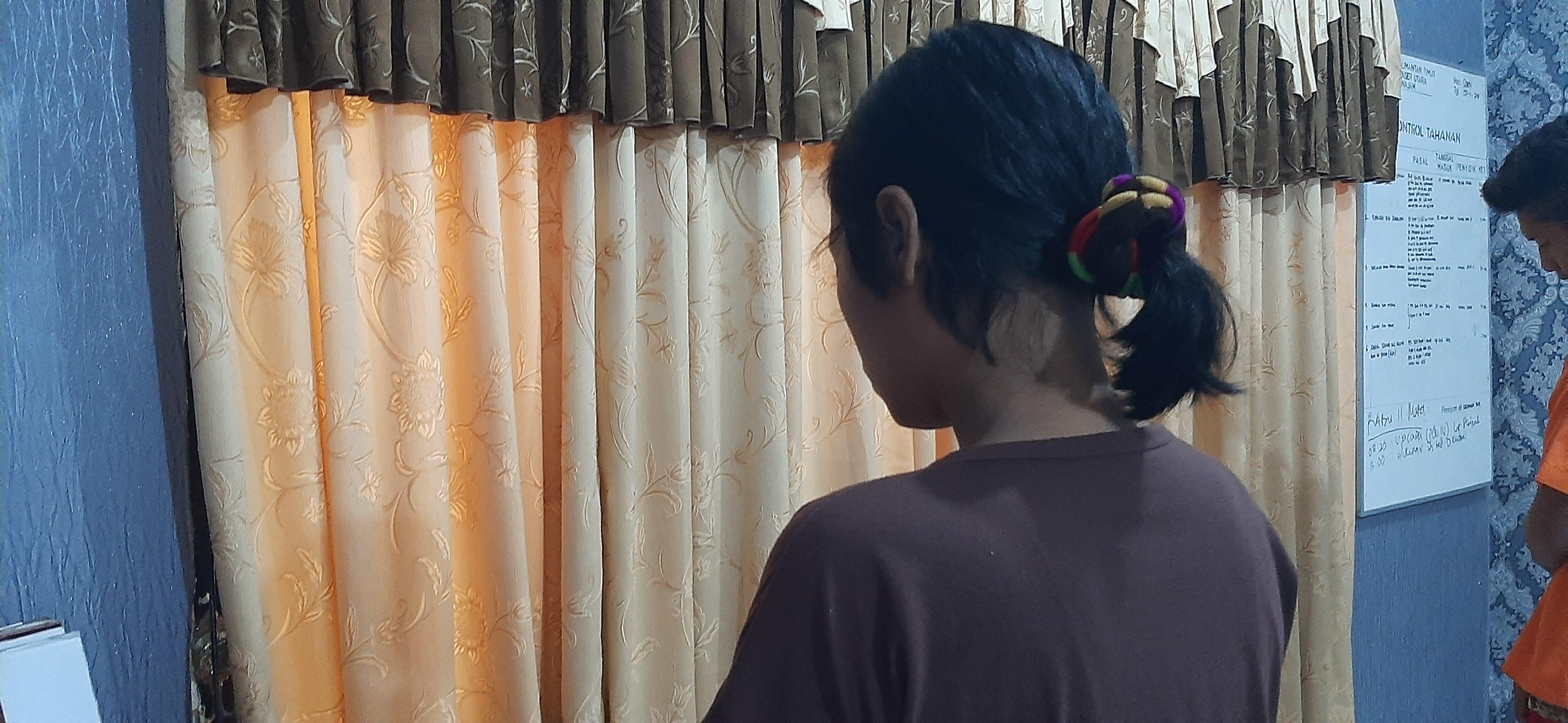 Polsek Penajam Amankan Pencuri Tas Yang Kerap Meresahkan Warga Penajam
