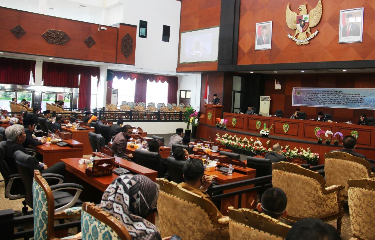 AGM sampaikan Sembilan Raperda Dalam Rapat Paripurna